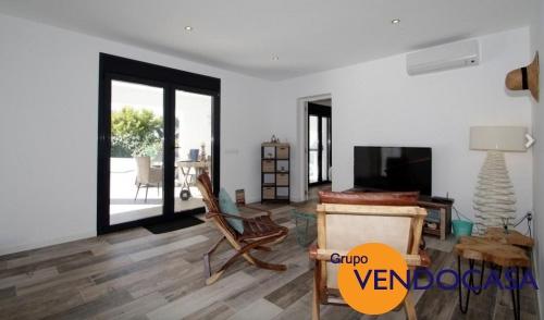 Ibiza style villa with sea views in Morai