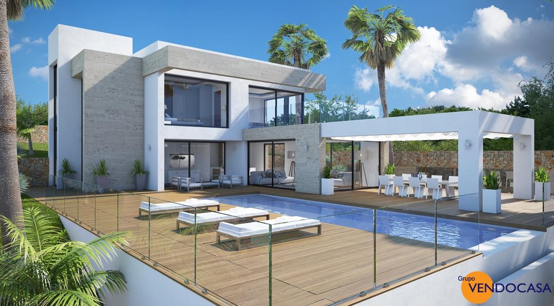 New build Luxury Modern Villa at Rafalet