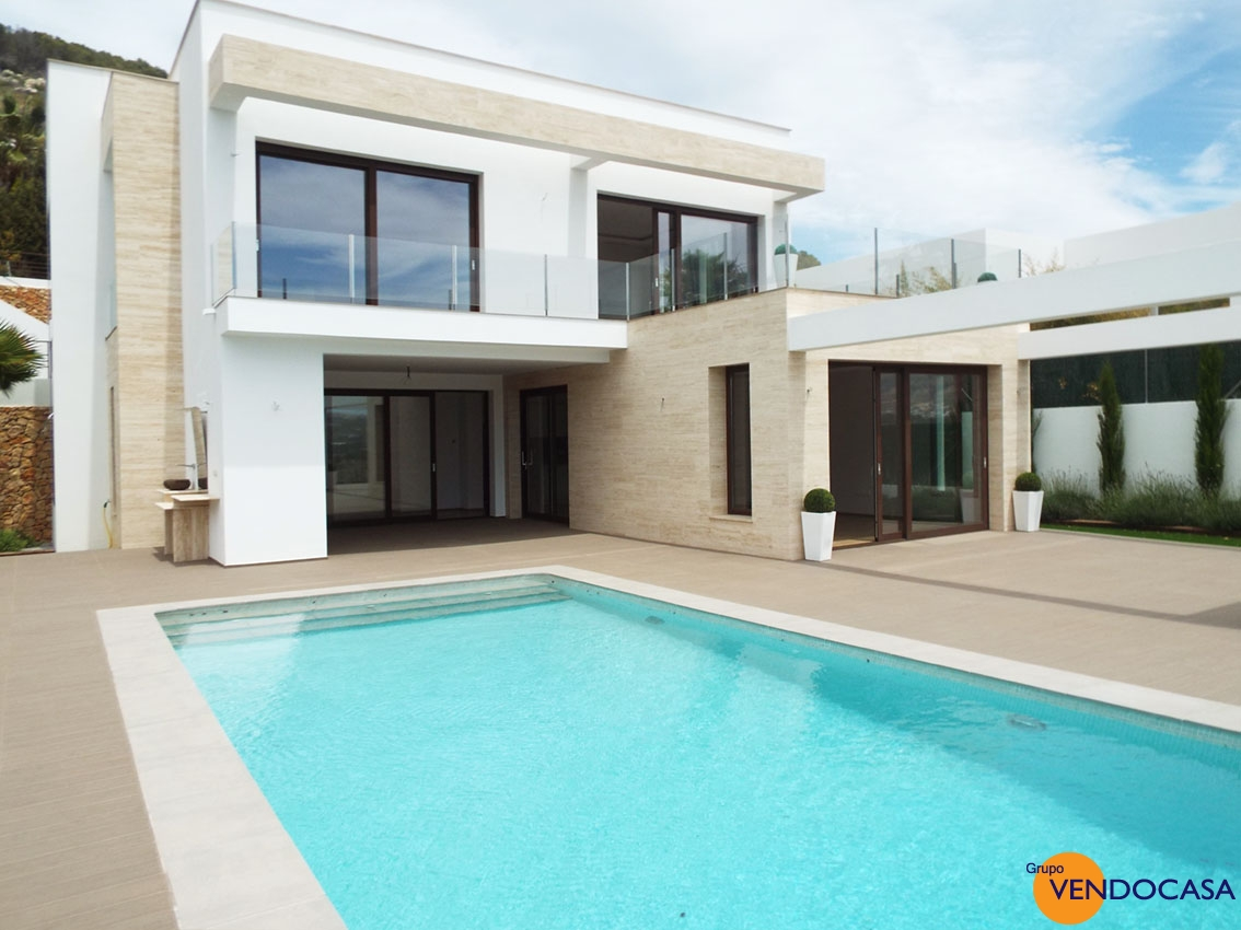 New build Luxury Modern Villa at Rafalet