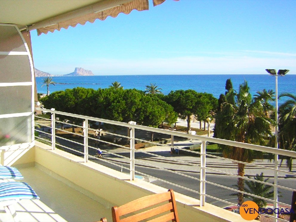 nice frontline apartment in Altea