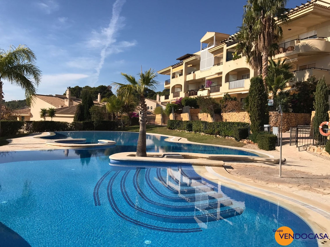 Suprb ground floor apartment at Isla de Altea