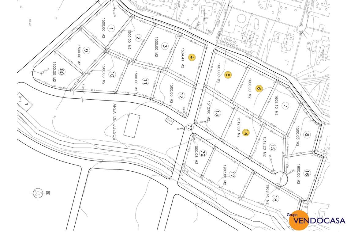 Last building plots at Montgo Garroferal
