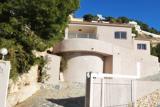 Nice modern villa with sea view