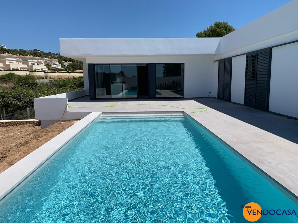Superb new build modern villa
